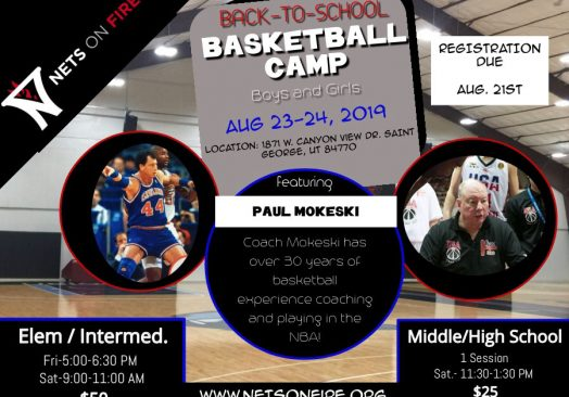 Back to School Camp with Paul Mokeski