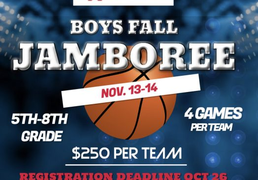 BOYS FALL JAMBOREE *POSTPONED TO NOV. 27-28
